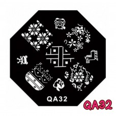 แผ่นเพสแปดเหลี่ยมQA32