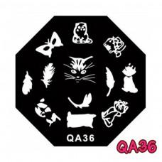 แผ่นเพสแปดเหลี่ยมQA36