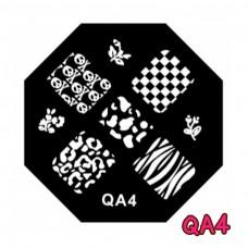 แผ่นเพสแปดเหลี่ยมQA4