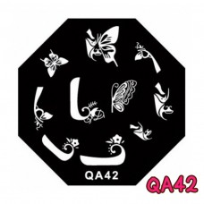 แผ่นเพสแปดเหลี่ยมQA42