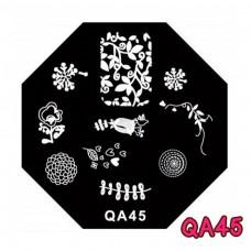 แผ่นเพสแปดเหลี่ยมQA45