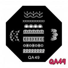 แผ่นเพสแปดเหลี่ยมQA49