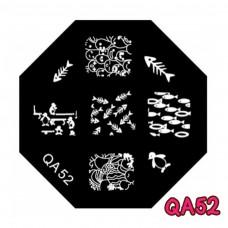 แผ่นเพสแปดเหลี่ยมQA52