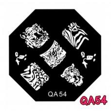แผ่นเพสแปดเหลี่ยมQA54