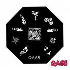 แผ่นเพสแปดเหลี่ยมQA55