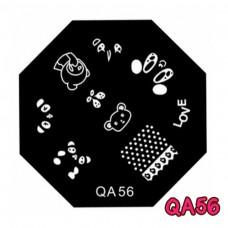 แผ่นเพสแปดเหลี่ยมQA56