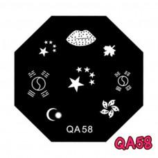 แผ่นเพสแปดเหลี่ยมQA58