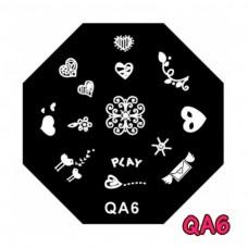 แผ่นเพสแปดเหลี่ยมQA6