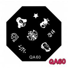 แผ่นเพสแปดเหลี่ยมQA60