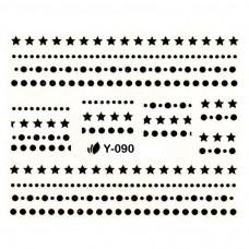 สติ๊กเกอร์น้ำทอง Y-090