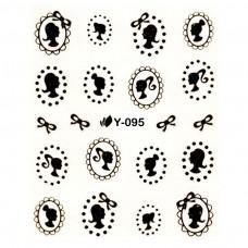 สติ๊กเกอร์น้ำทอง Y-095